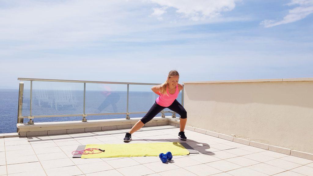Personal Trainerin Kriegt Eigenes Workout